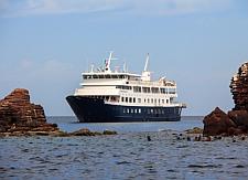 UnCruise yacht in Baja California