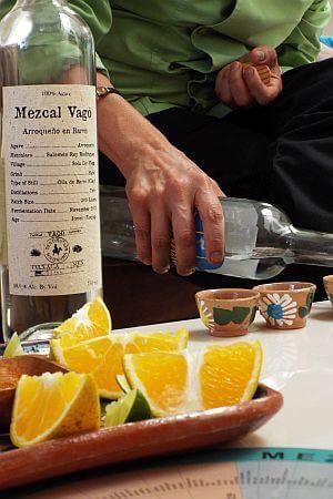 Mezcal tasting