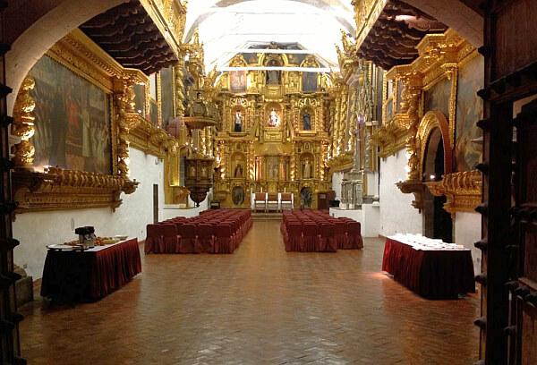 Nazarenes hotel chapel