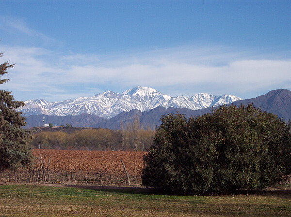 Andes Mountains Mendoza