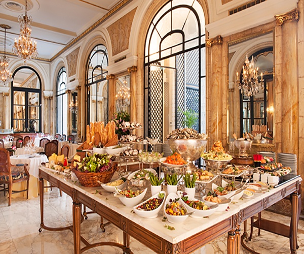 Alvear Palace High Tea