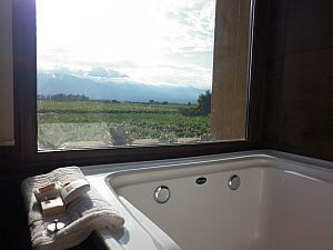 Suite jacuzzi bathtub
