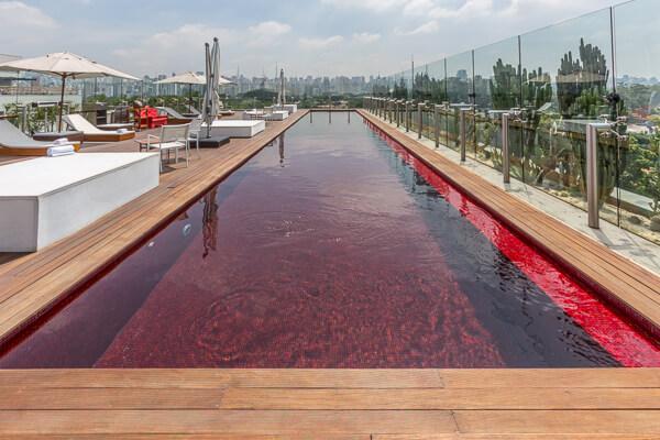 Hotel Unique swimming pool Sao Paulo
