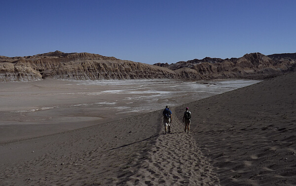 Hikers in Atacama
