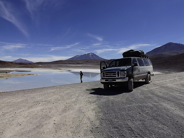 chile salt flats in style