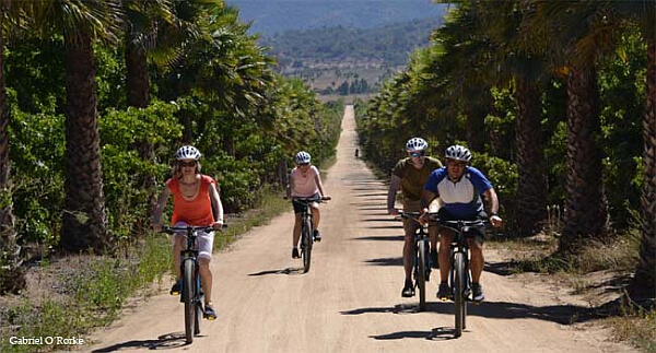 Biking to Loma Larga