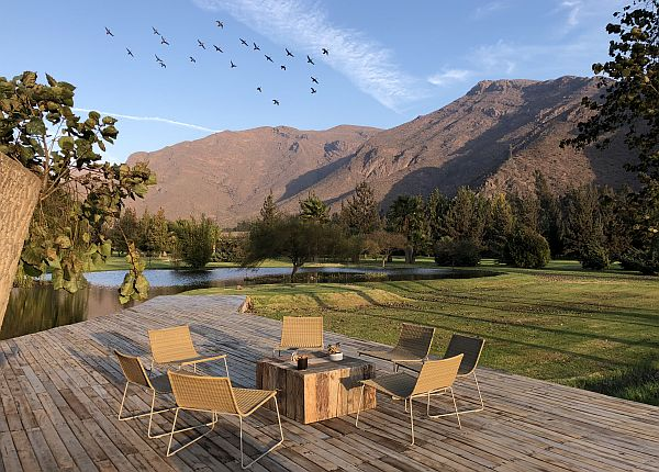 Casa Molle golf course in Chile