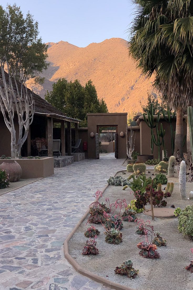 CasaMolle Villa Hotel and golf course in north Chile near San Pedro de Atacama