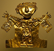 Colombia gold artifacts