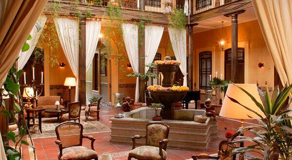 Mansi n alcazar hotel cuenca ecuador for La mansion casa hotel apurimac