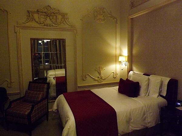Casa Gangotena hotel room