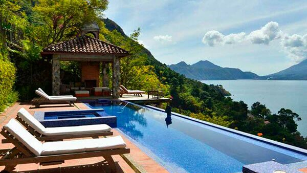 luxury hotel Lake Atitlan