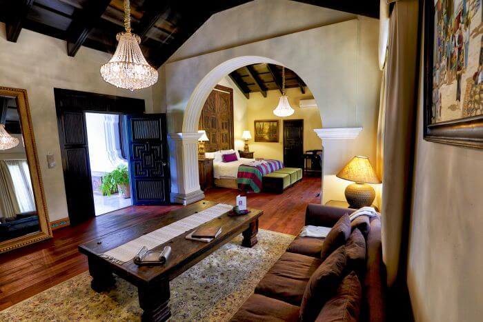 luxury stay in Antigua, Guatemala