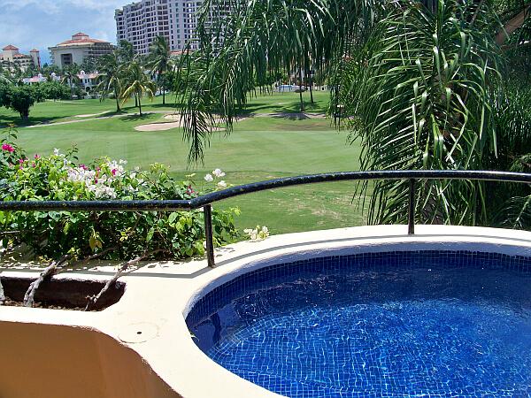 Casa Velas Resort on the Marina golf course