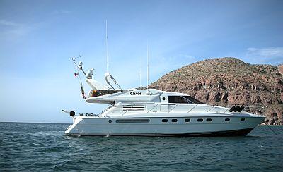 luxury yacht Baja