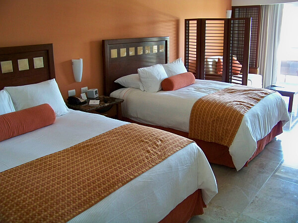luxury rooms at Tres Rios