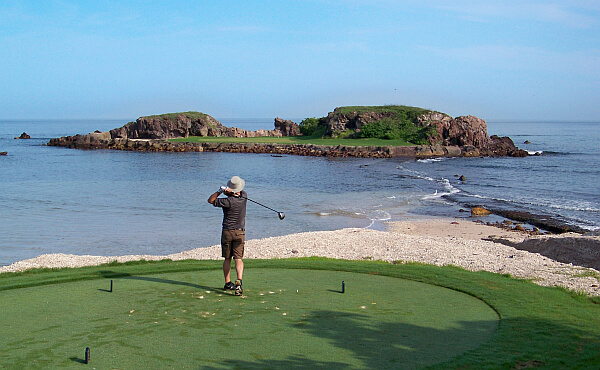 Your editor researching Punta Mita, Mexico