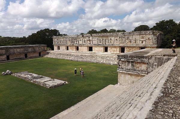 Uxmal ruins with Catherwood Travels