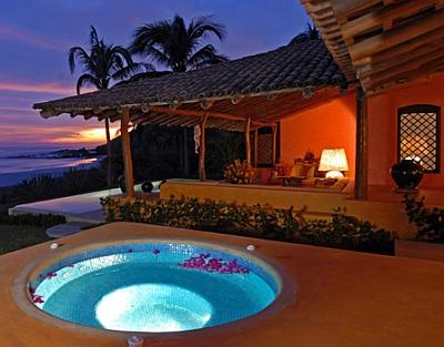Hotel las alamandas resort costalegre m xico - Jacuzzi en la terraza ...