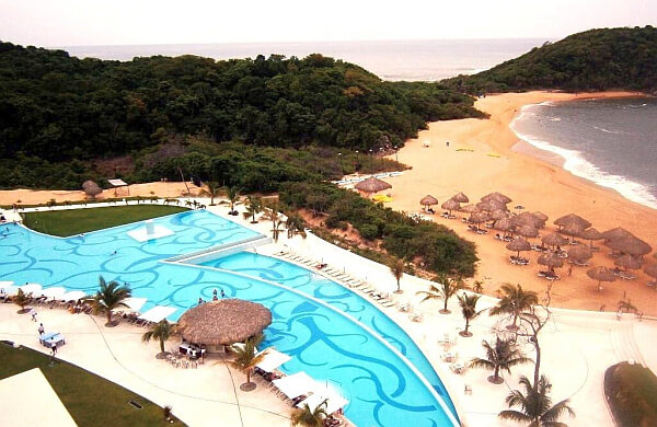luxury adult all-inclusive Huatulco