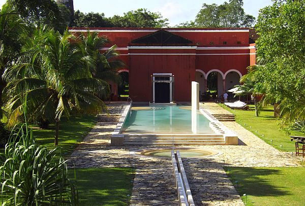 luxury hacienda hotel Yucatan