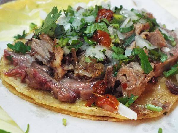 Tripe tacos with Eat Mexico