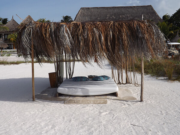 Beachside in Holbox Island