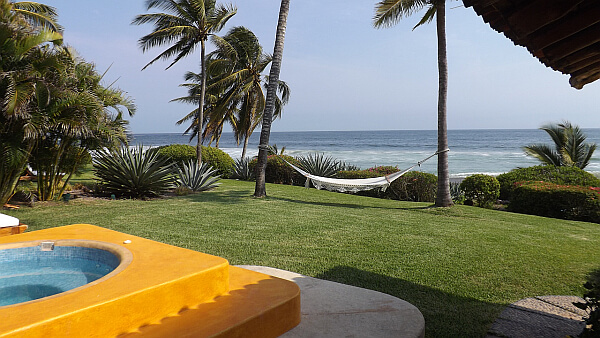 Pacific Ocean resort Mexico