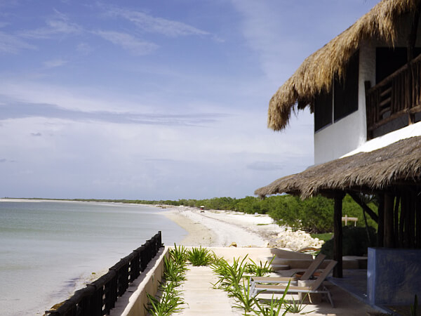 Waterfront in Holbox Island