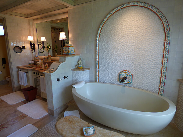 luxury beach resort bathroom