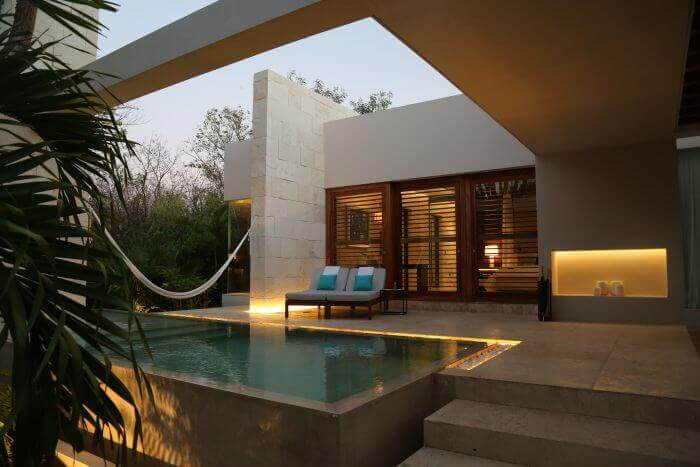 Chable Resort private spaces