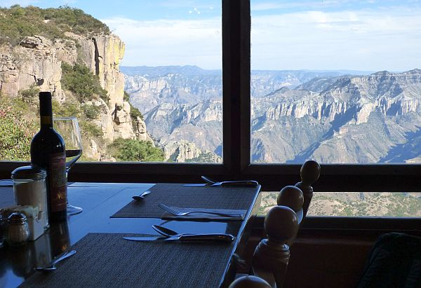 mirador restuarant copper canyon