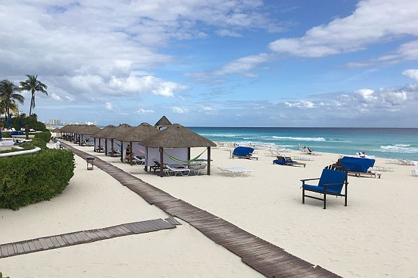 Cancun beach Ritz Carlton