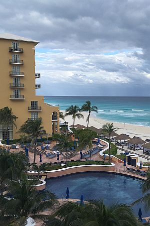 Ritz Carlton Cancun view