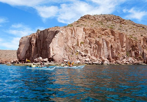 Kayaking in Baja California