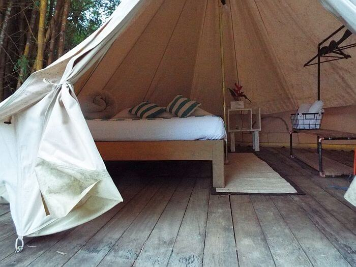 coffee plantation glamping