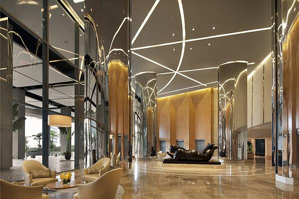 Trump Ocean Club Hotel Lobby