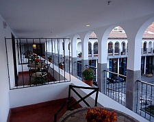 Cusco JW Marriott courtyard
