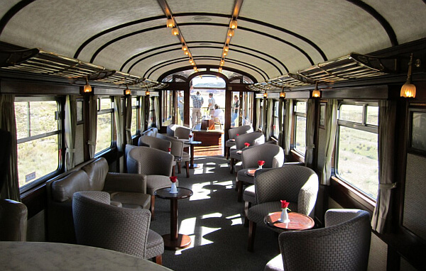 Perurail luxury train ride