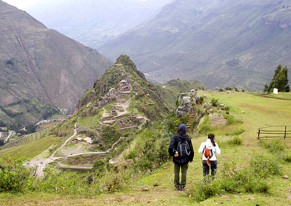 Hiking in Pisac, Peru