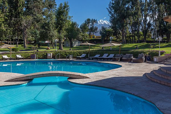 Arequipa hotel pool