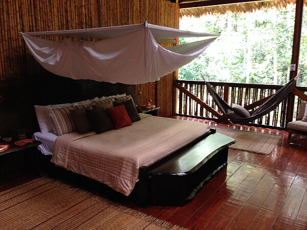 Amazon Villa bedroom