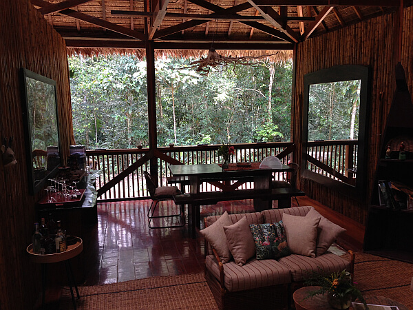 Amazon Villa living room